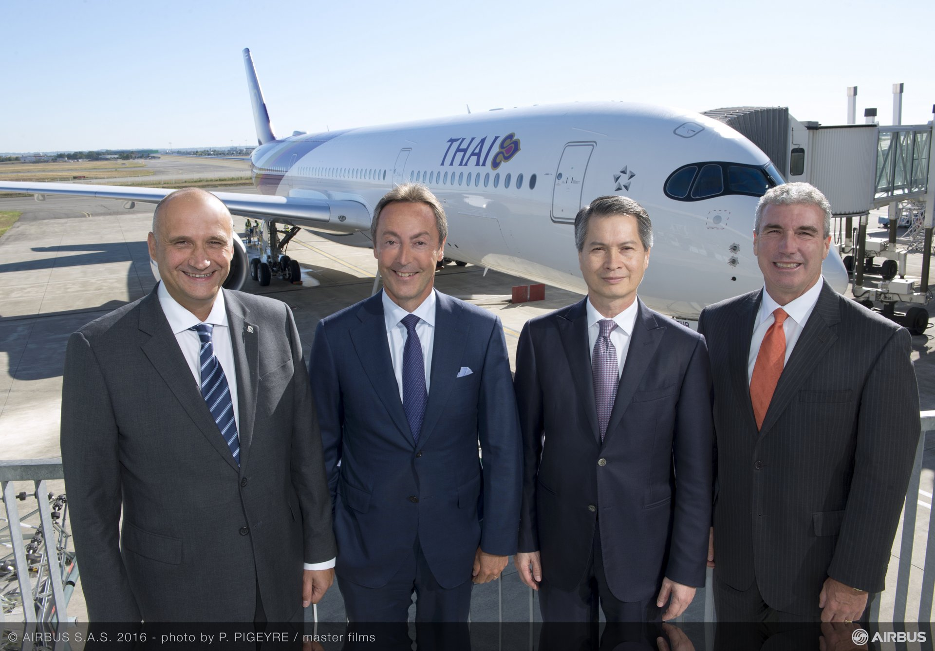 First A350 XWB delivery to THAI_14