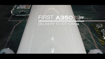 In the making: Air China's first A350 XWB
