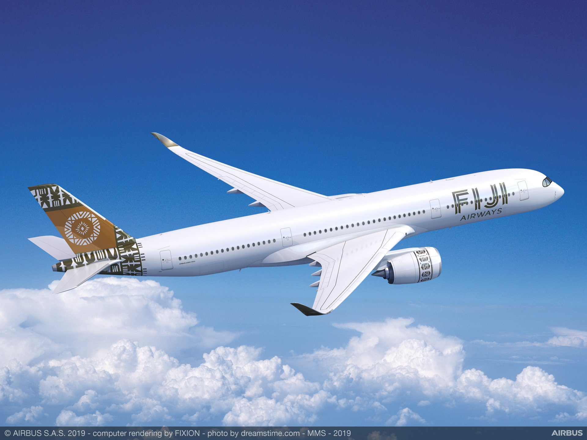 Fiji Airways' two A350-900s, leased from Dubai-based DAE Capital, will join the airline's fleet as part of the plan to expand its international network