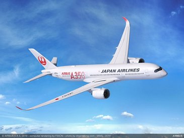 Japan Airlines' A350-900