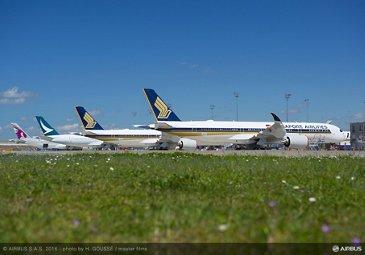 A350 XWB line-up