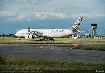 A350 XWB completes route-proving tour 1