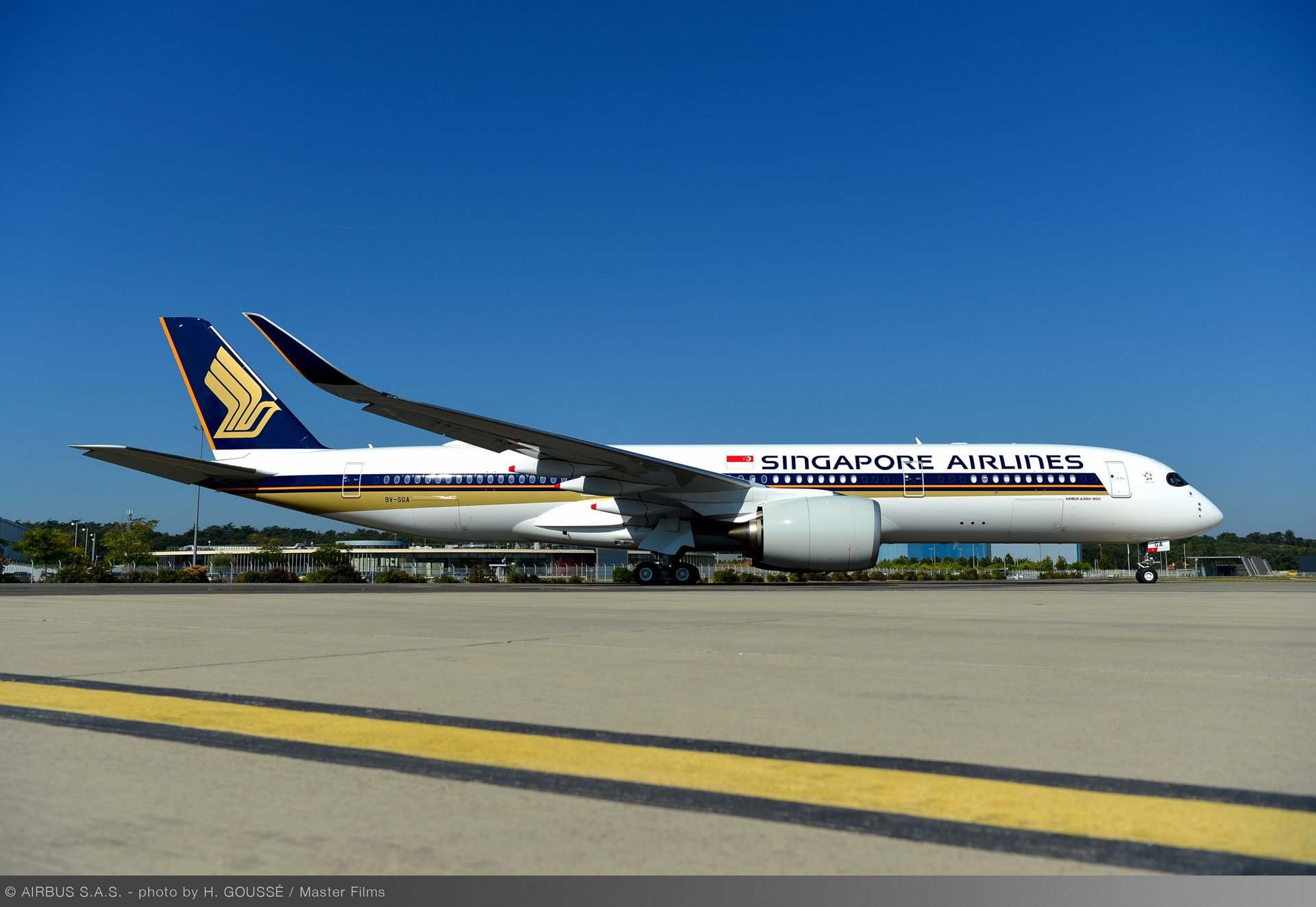 First Ultra Long Range A350 XWB delivered to Singapore Airlines