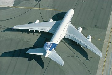 The A380 is sized to be compatible with taxiways, runways and parking aprons at airports around the world