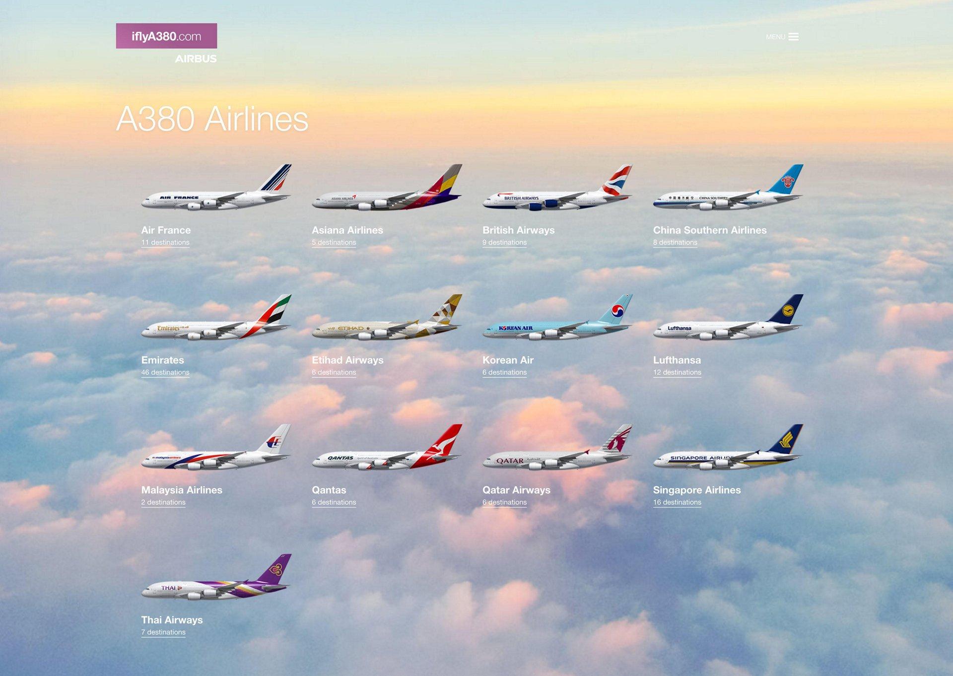 IflyA380 airlines