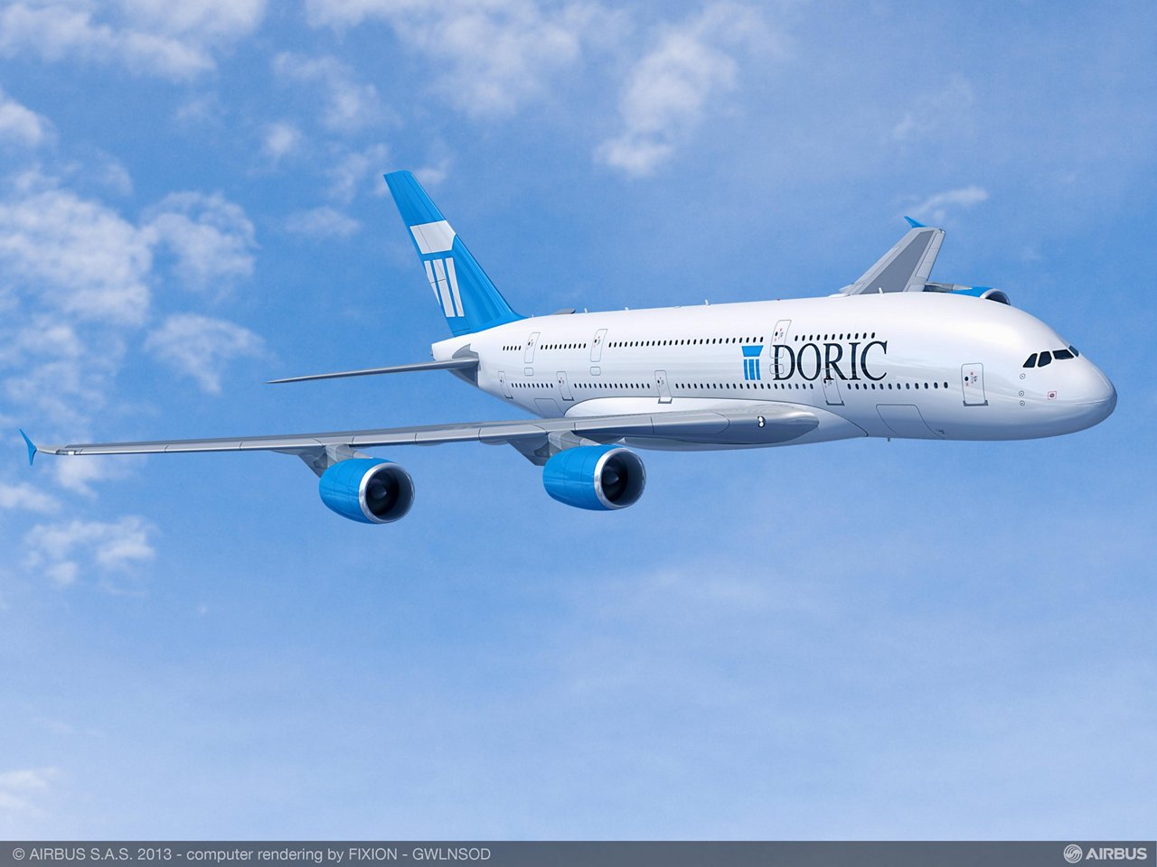 Paris Air Show – Doric Lease Corp A380 1