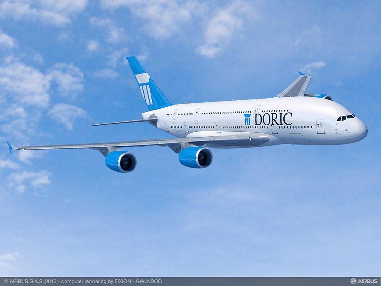 Paris Air Show – Doric Lease Corp A380 1