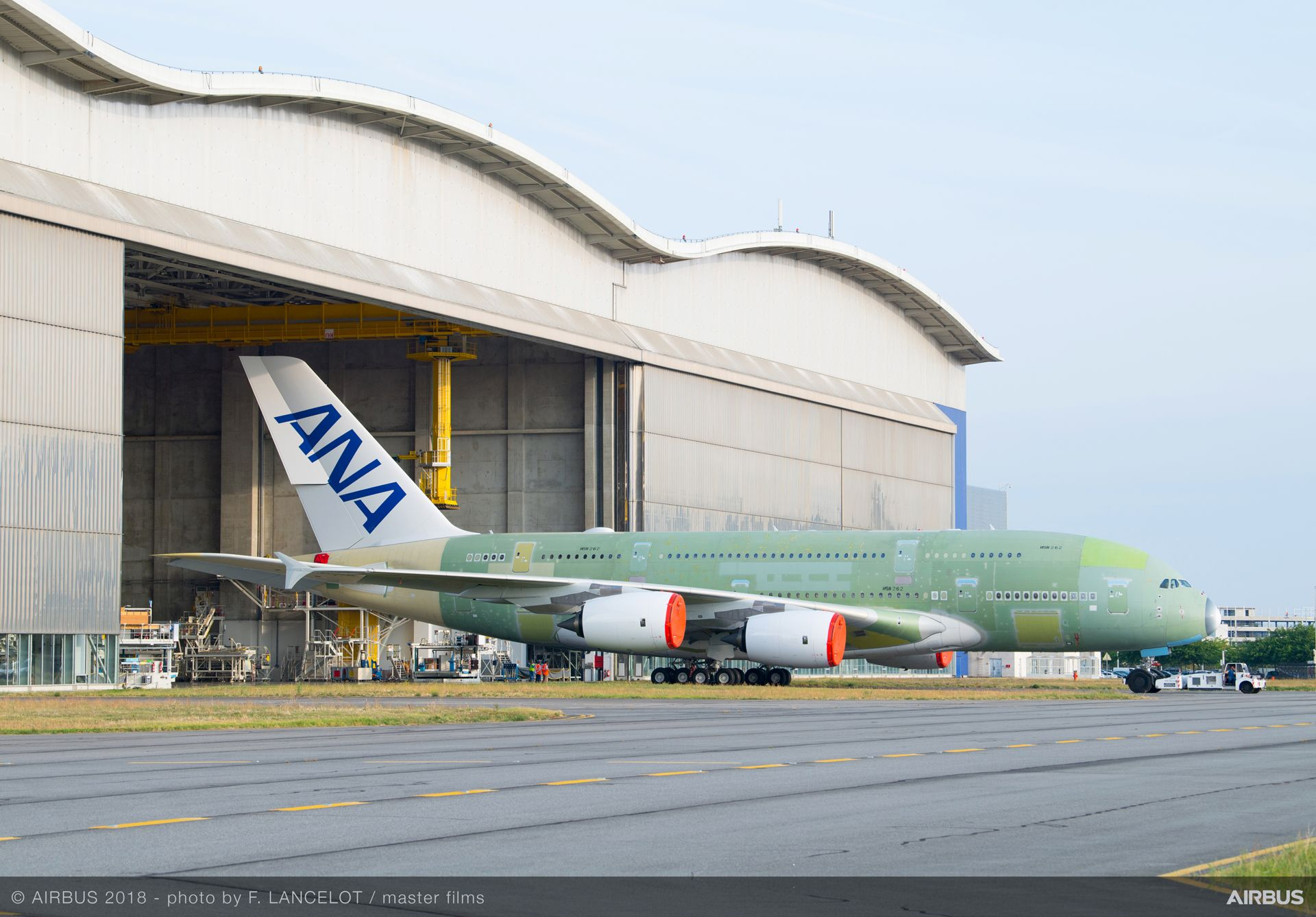 Final assembly complete for All Nippon Airways' first A380