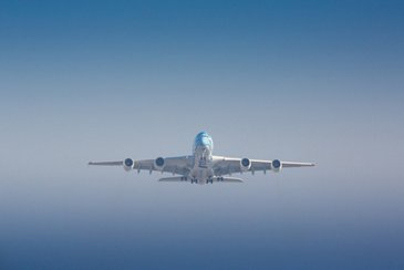 All Nippon Airways' A380 in flight