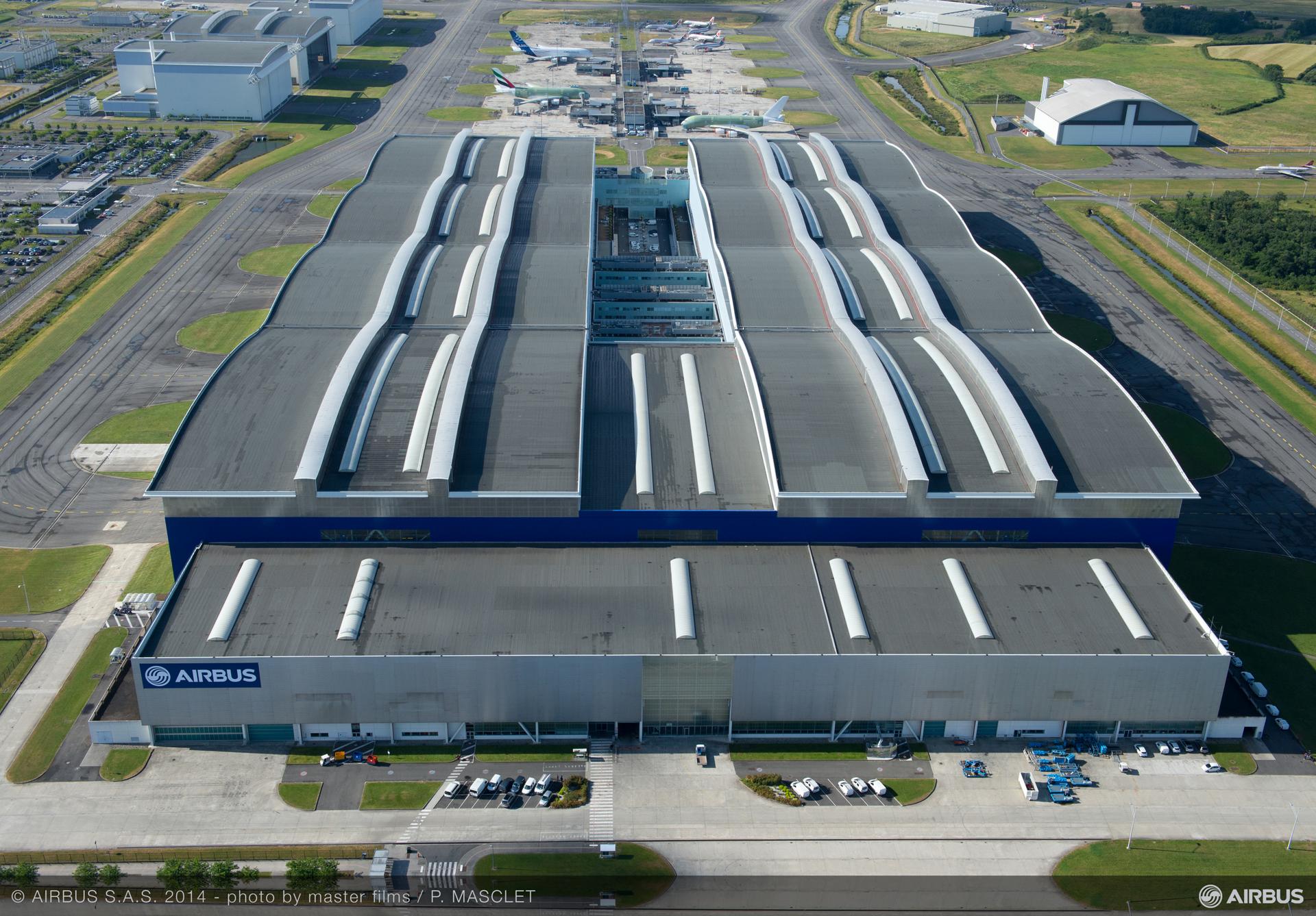 A380 Final Assembly Line
