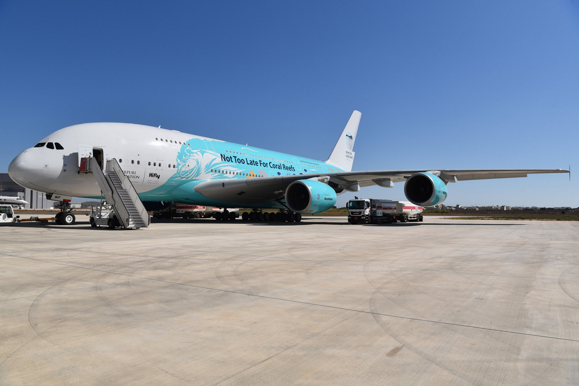 A380 HiFly Roll Out