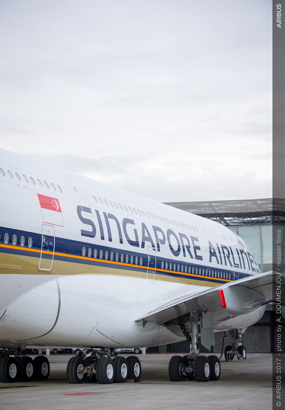 New Singapore Airlines A380 delivery ceremony – MSN243 5