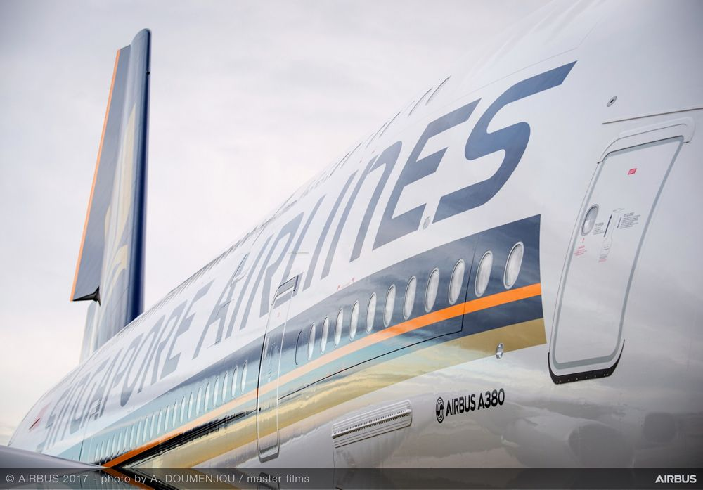 New Singapore Airlines A380 delivery ceremony – MSN243 2