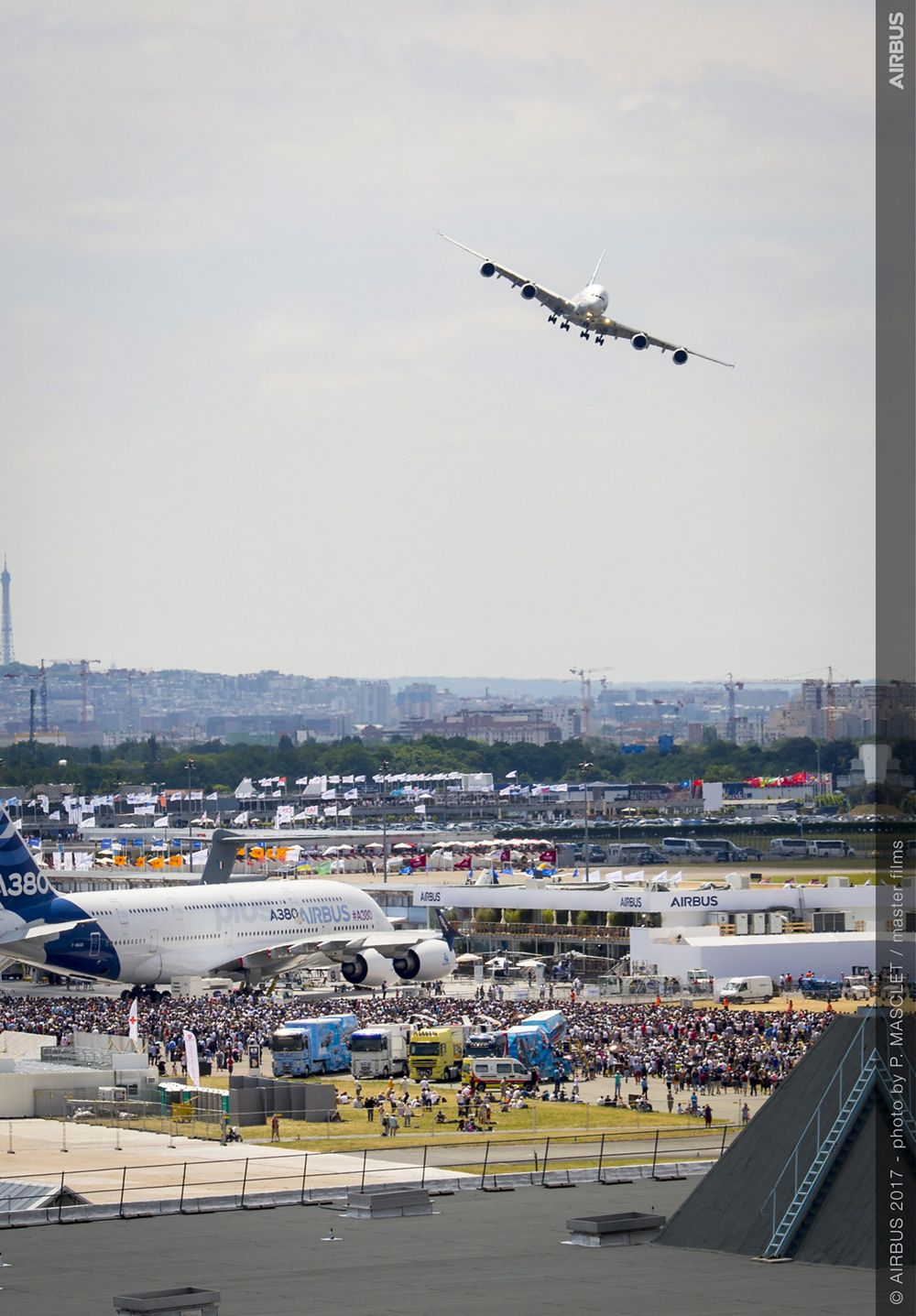 A380 Flying Display - 23 June PAS 2017