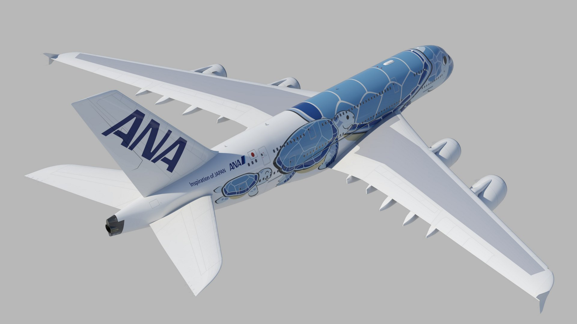 A380 ANA special livery 2