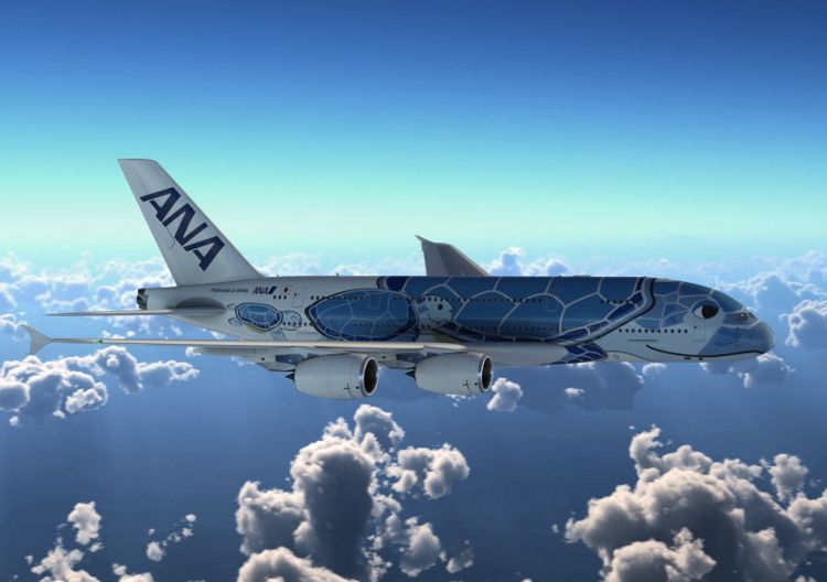 Ana Unveils Special Livery For Its New A380 Fleet