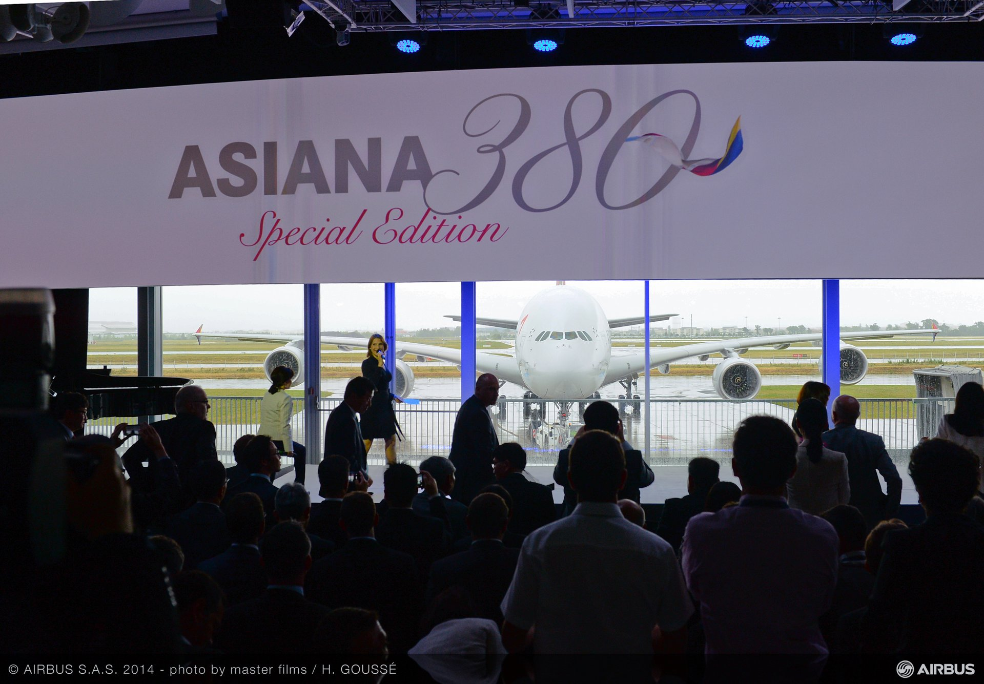 A380 Asiana delivery ceremony 10