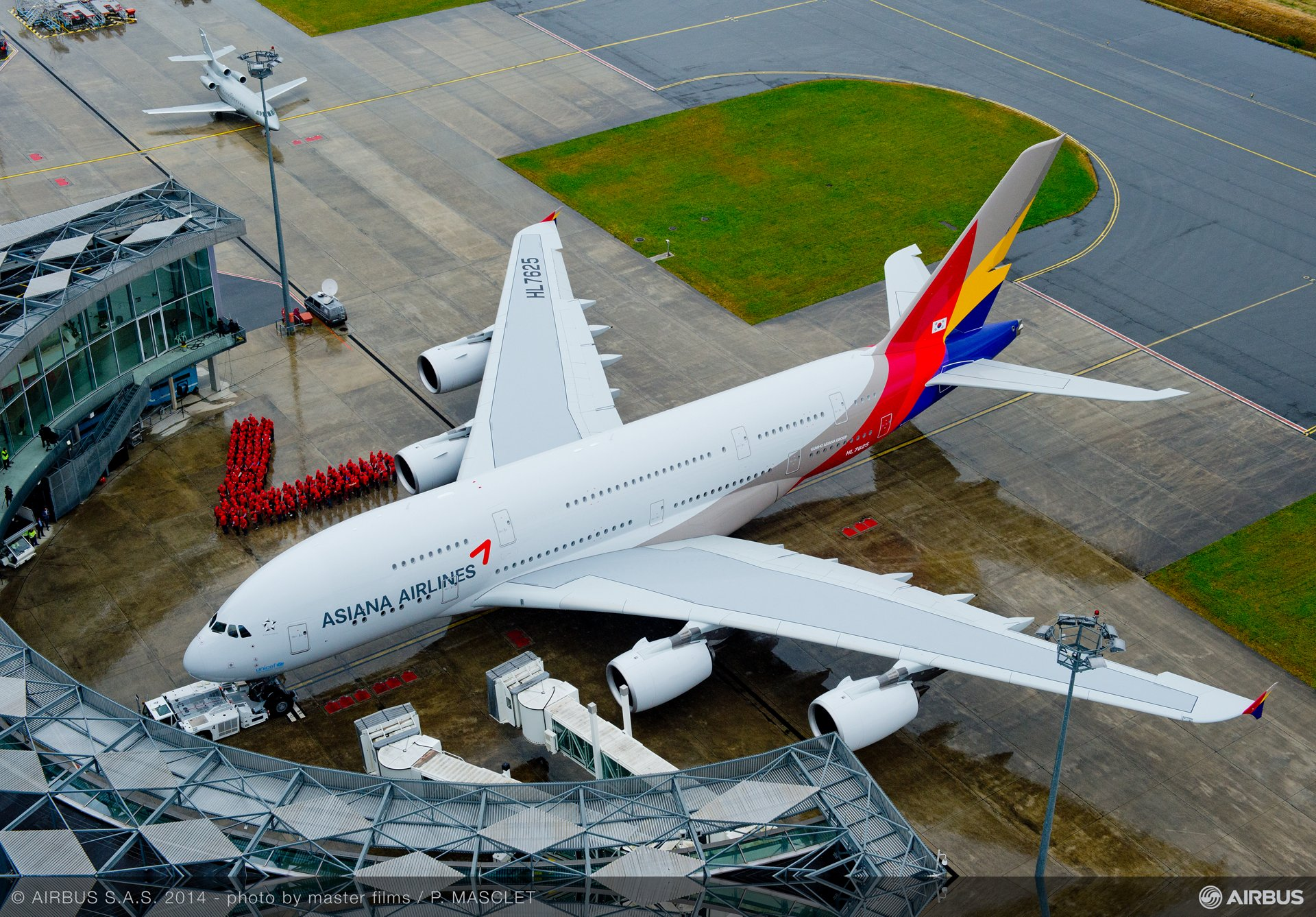 A380 Asiana delivery ceremony 11