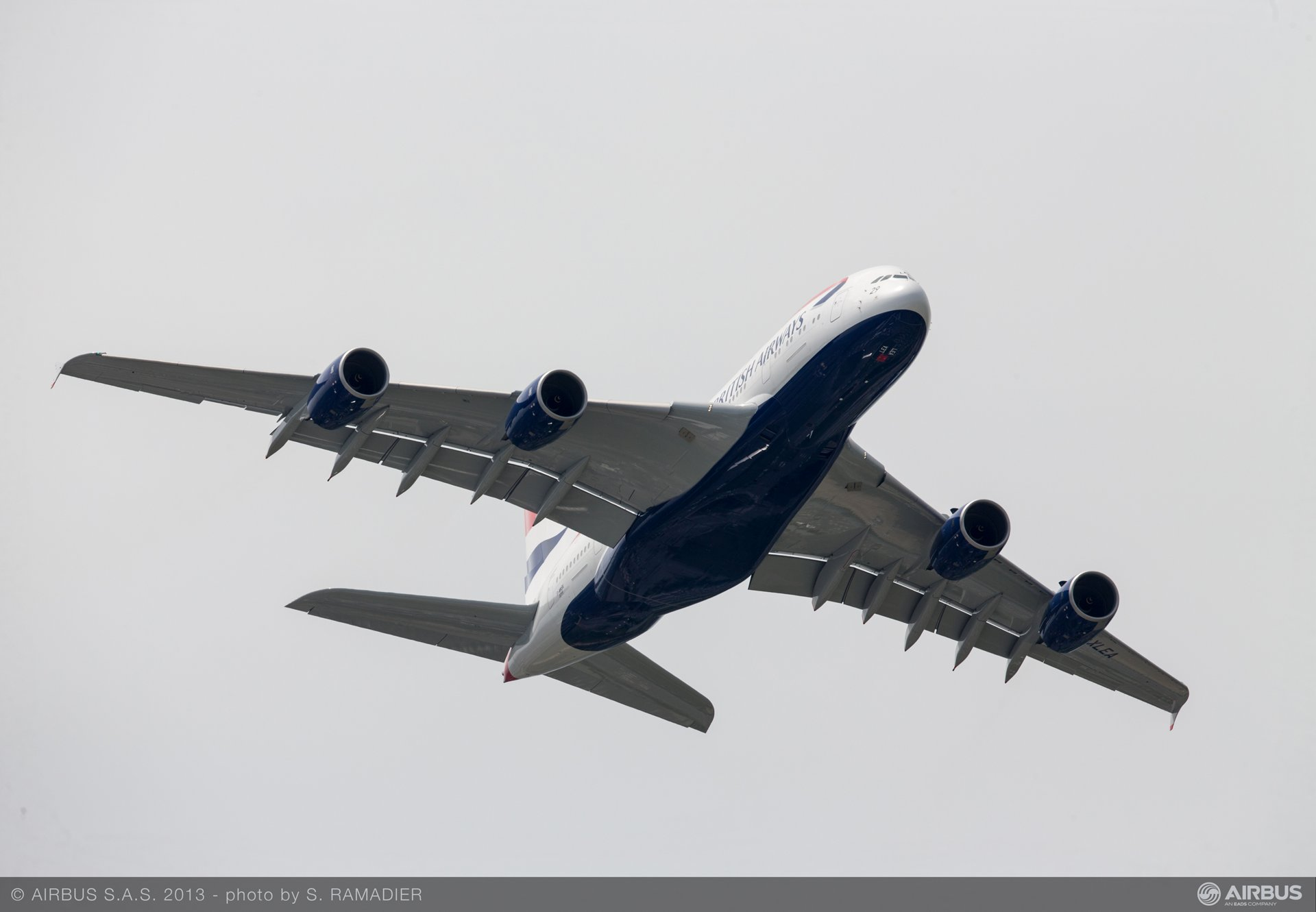 A380 BAW flight demo Tuesday 3