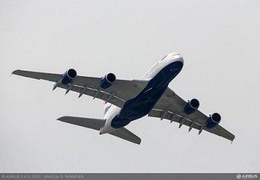 A380 BAW flight demo Tuesday 3