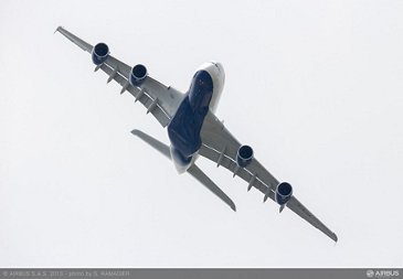 A380 BAW flight demo Tuesday 4