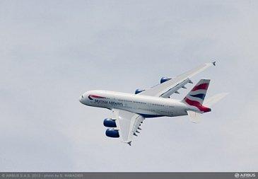 A380 British Airways flight demo Wed 19 - 2