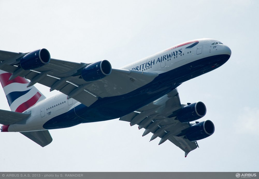 A380 British Airways flying demo 2