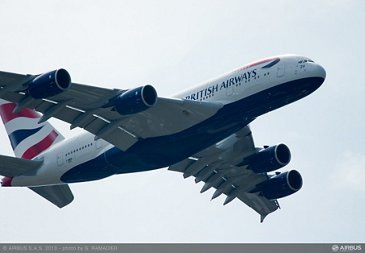 A380 British Airways flying demo 2