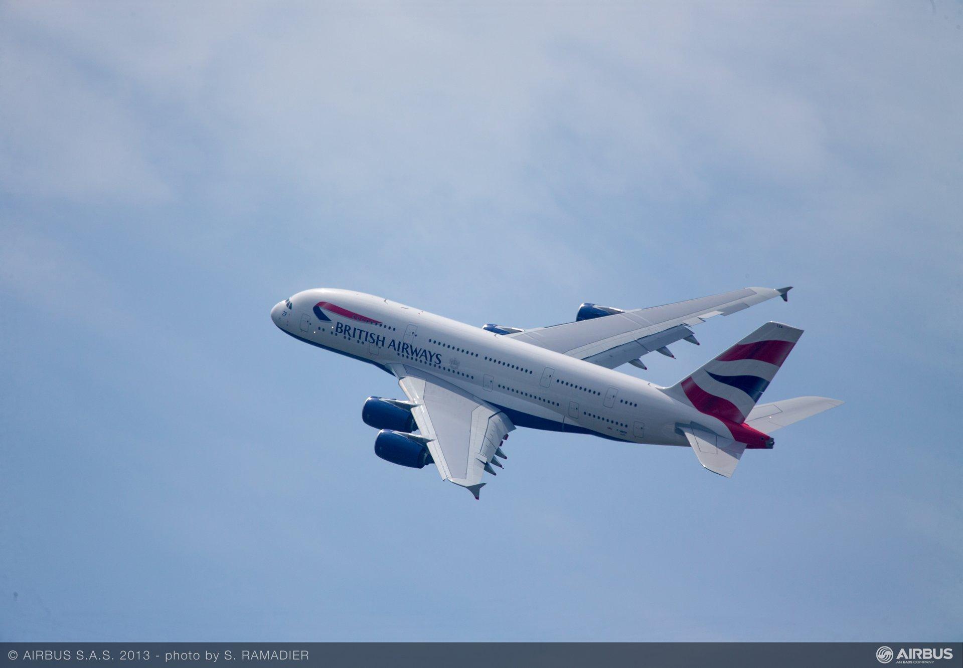 A380 British Airways flying demo 3