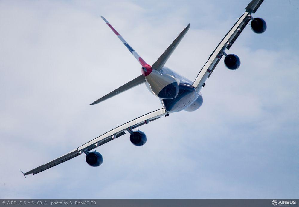 A380 British Airways flying demo 4