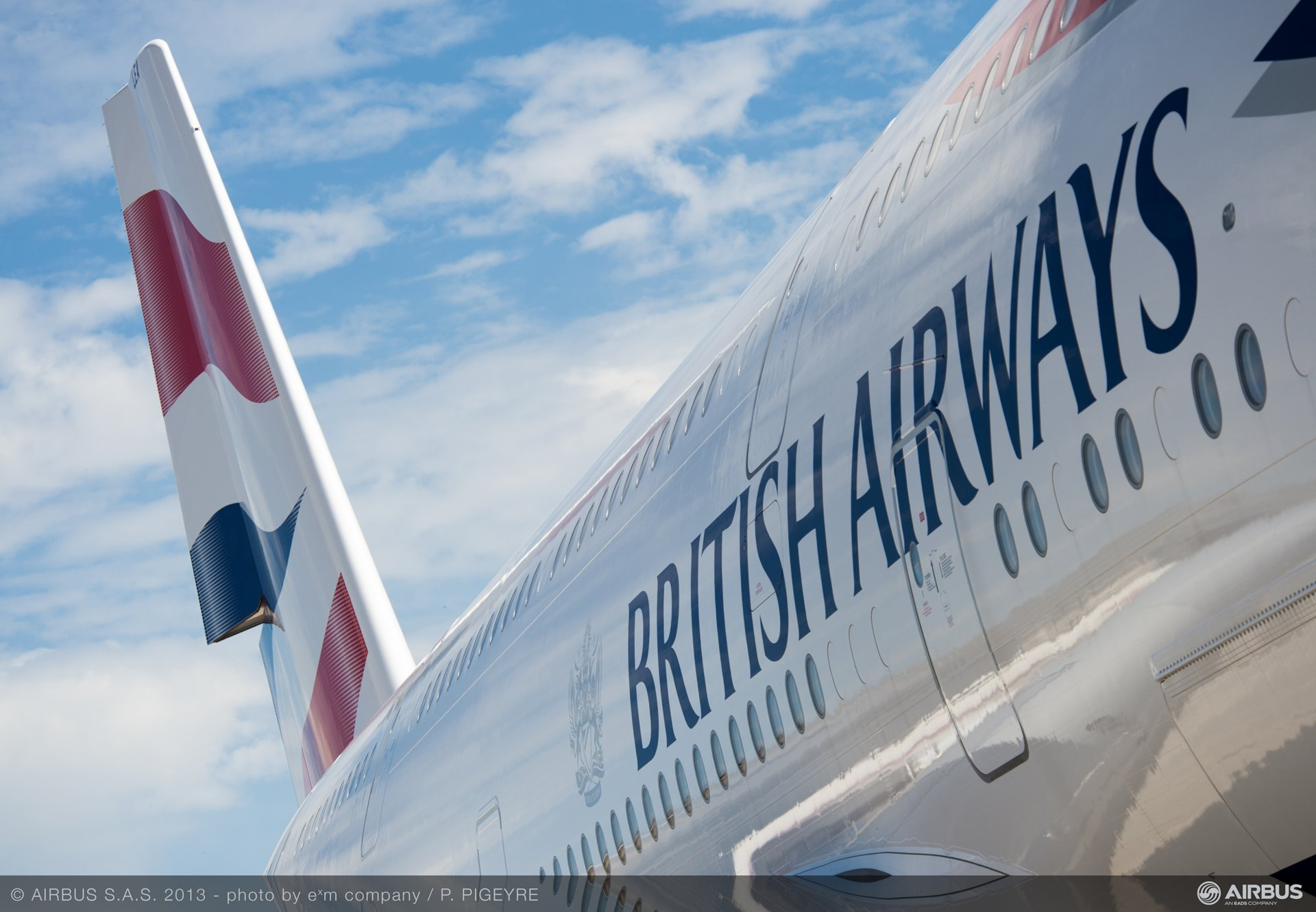 A380 British Airways fuselage