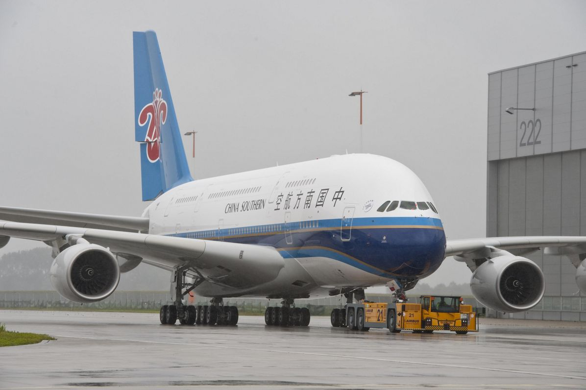 A380 China Southern MSN 031 Roll Out