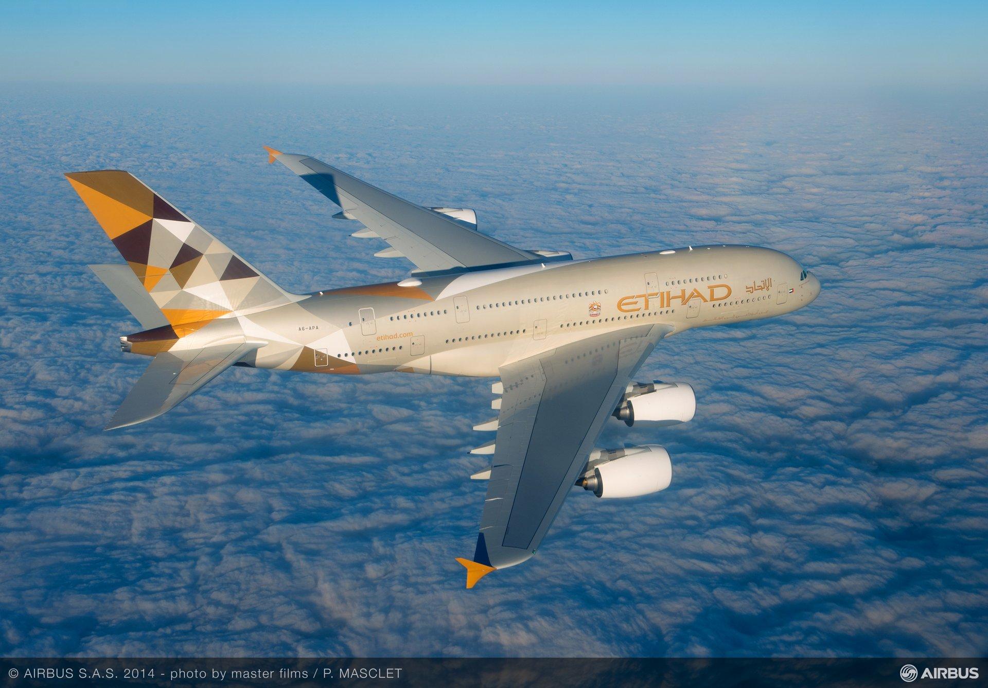 A380 Etihad - In flight 1
