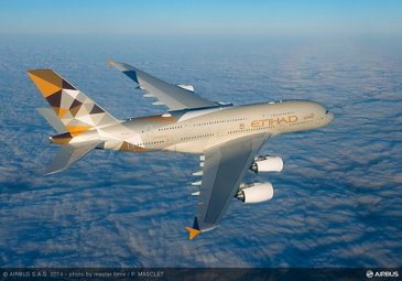 A380 Etihad - In flight 1