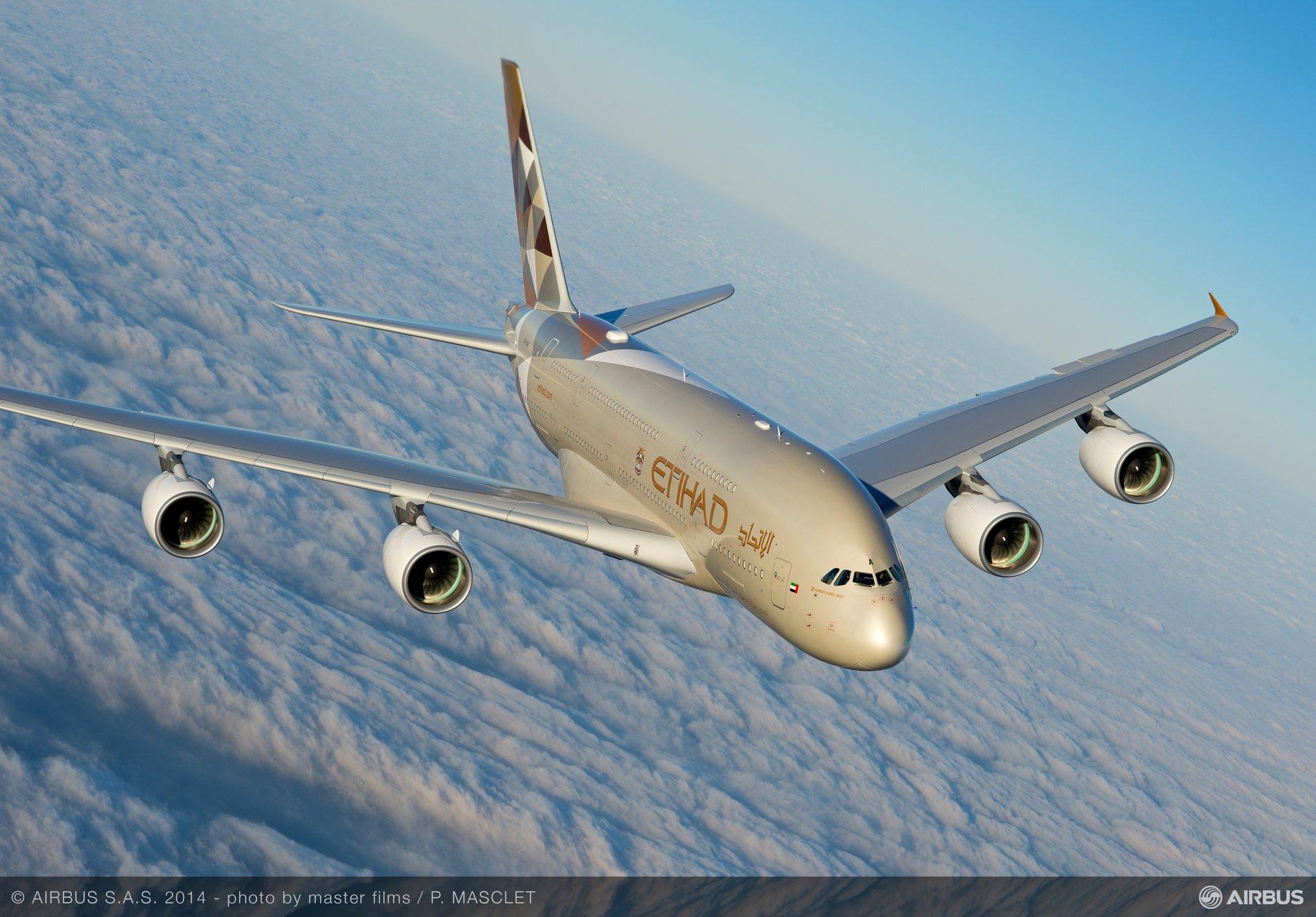 A380 Etihad - In flight 4