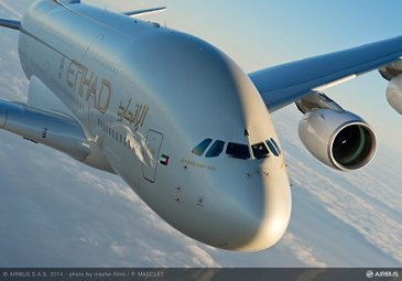 A380 Etihad - In flight 5