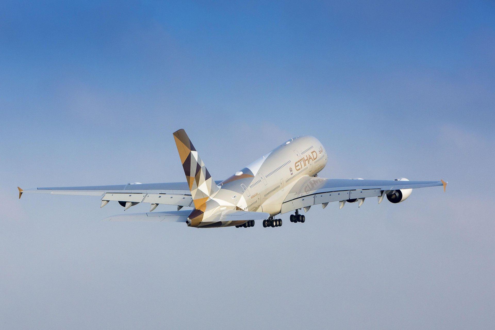 A380 Etihad - In flight 7