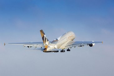 A380 Etihad - In flight 7
