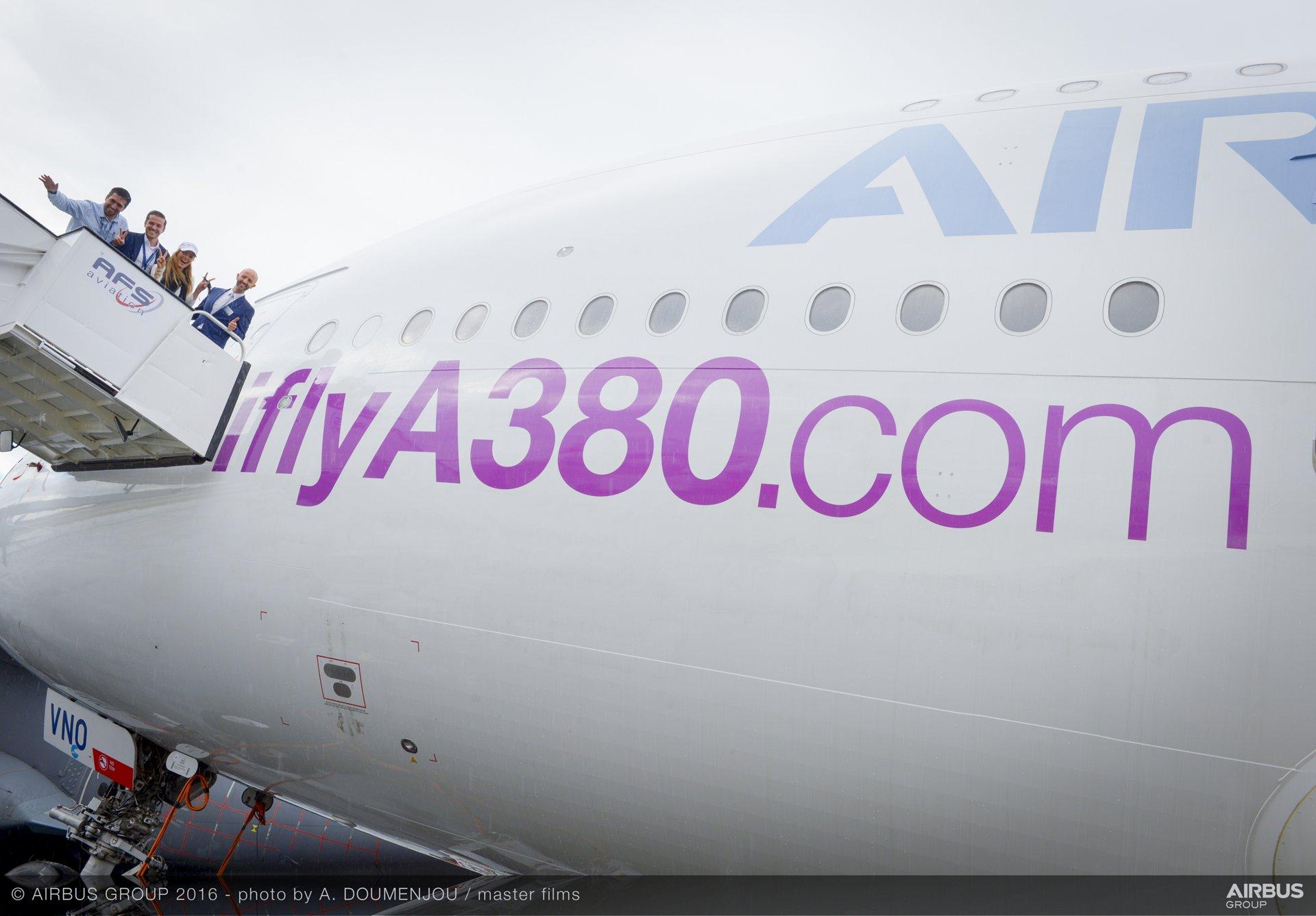Farnborough Airshow_Day 4_I Fly A380 3
