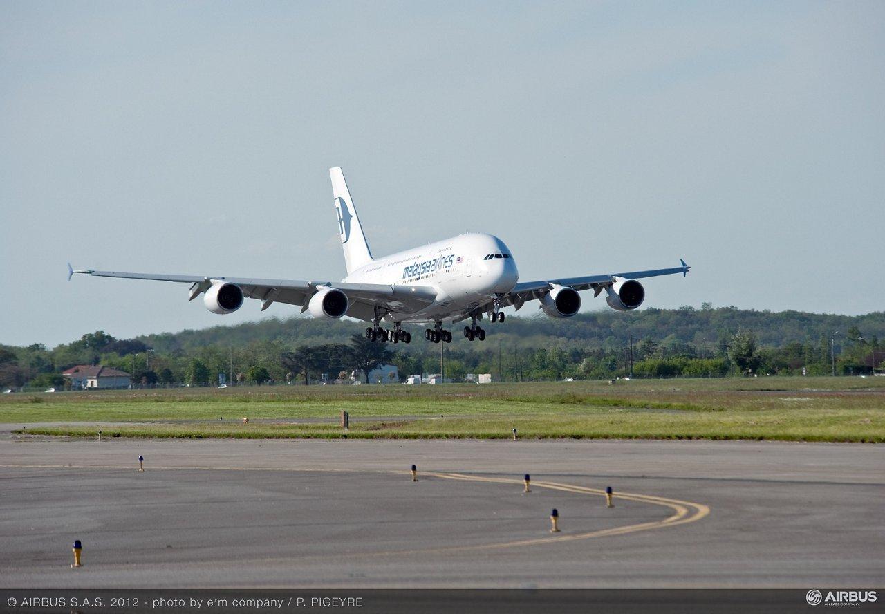 A380 MAS Landing