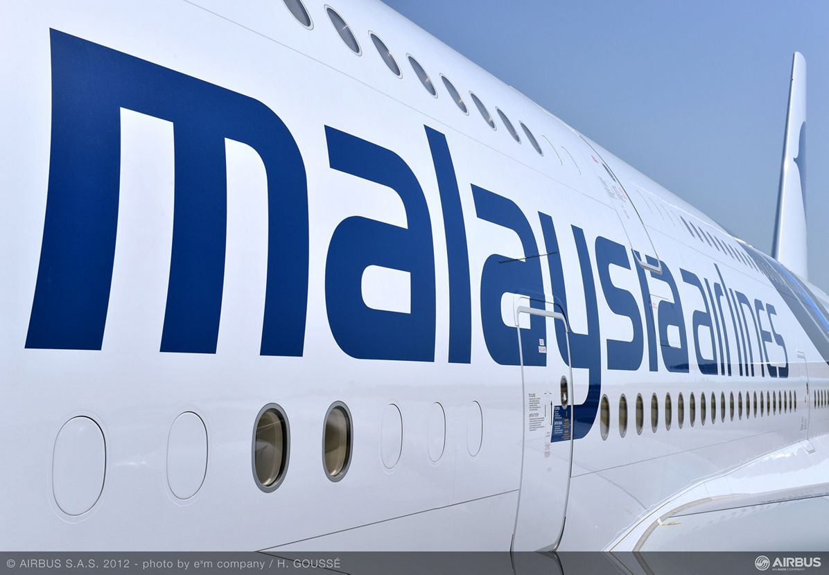 A380 MAS in special livery
