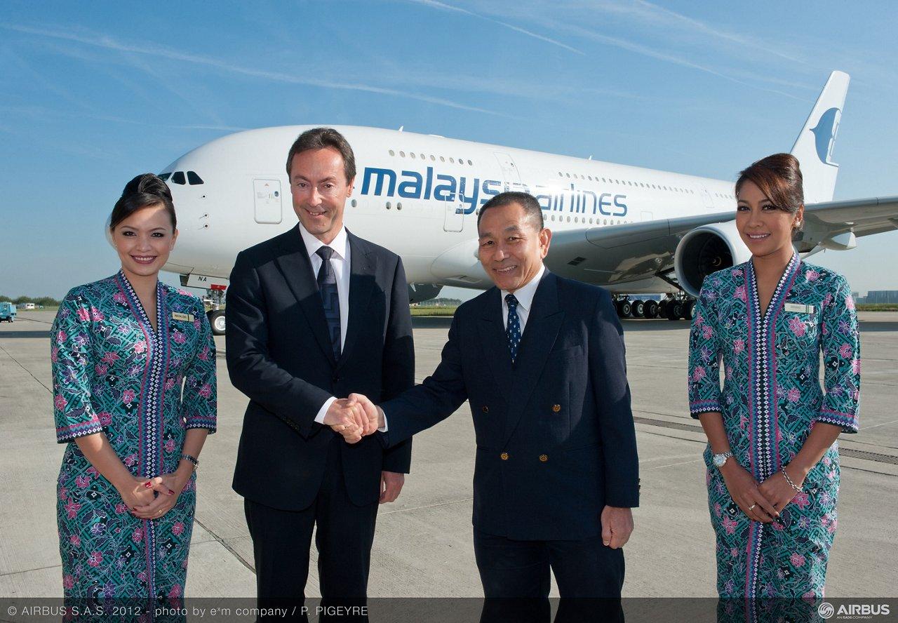 A380 MAS delivery