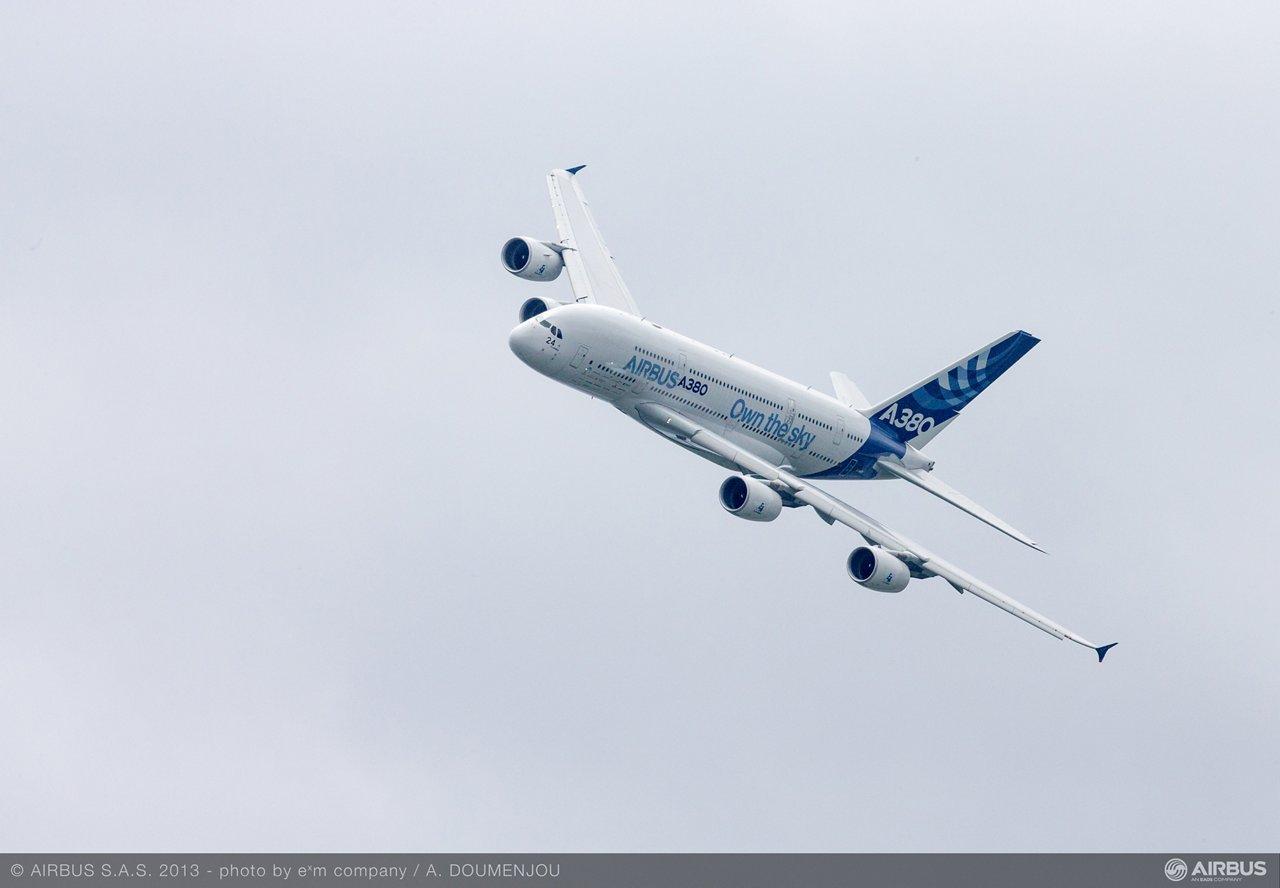 A380 MSN4 flight demo day 5