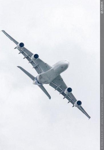 2013 Paris Air Show: The A380's daily flight presentation