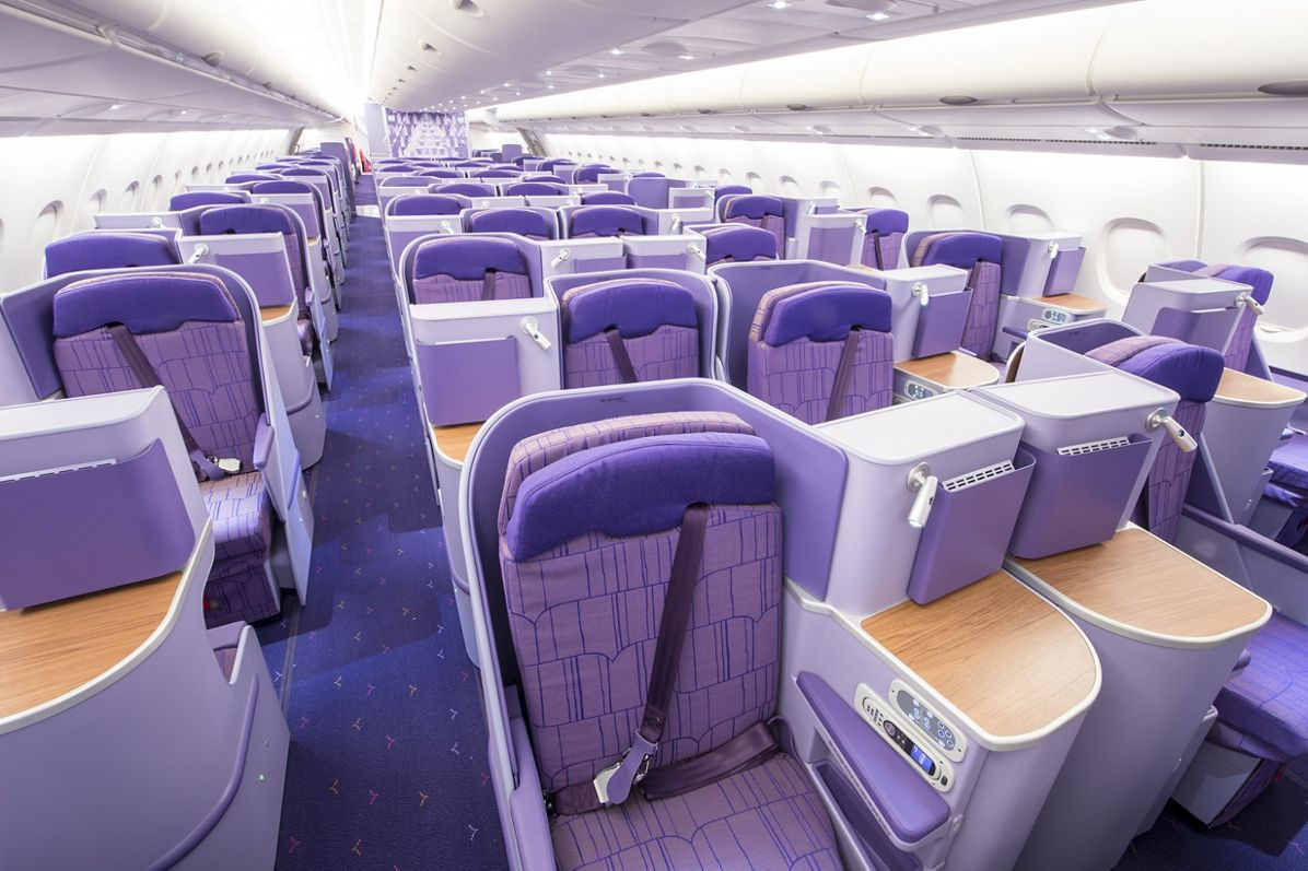 A380 THAI Seat Class Business