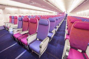 A380 THAI Seat Class Eco