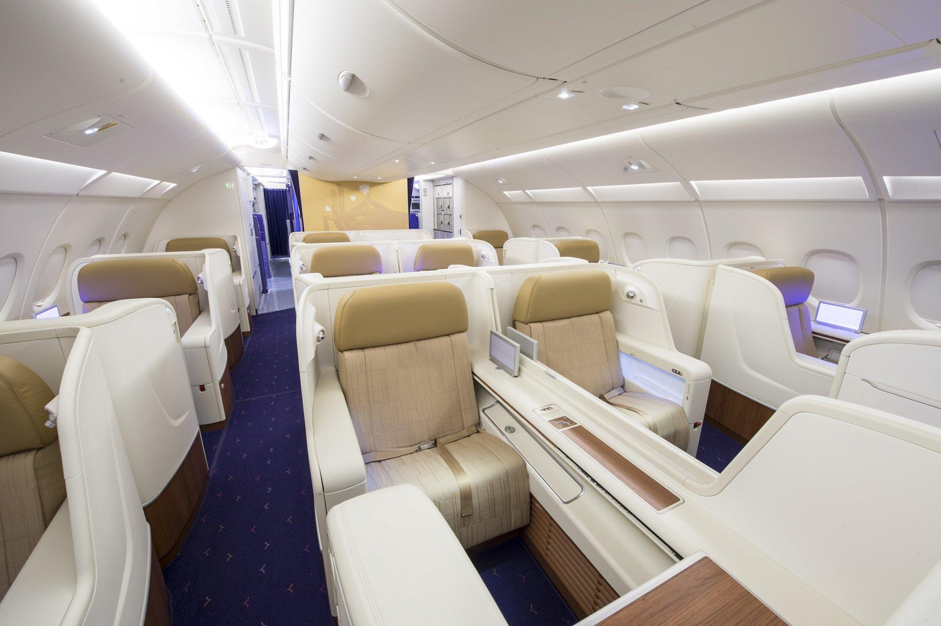 A380 THAI Seat Class First