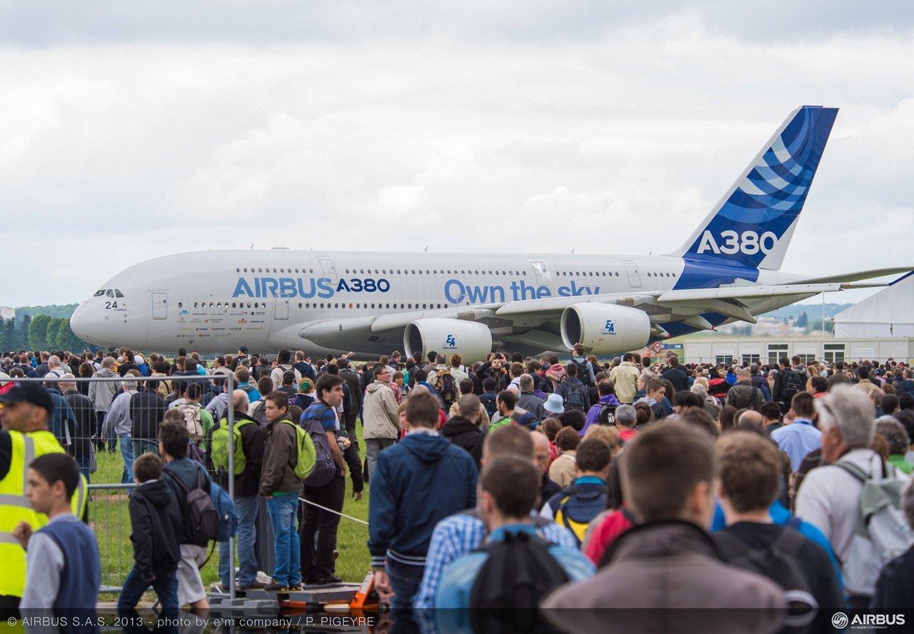A380 own the sky
