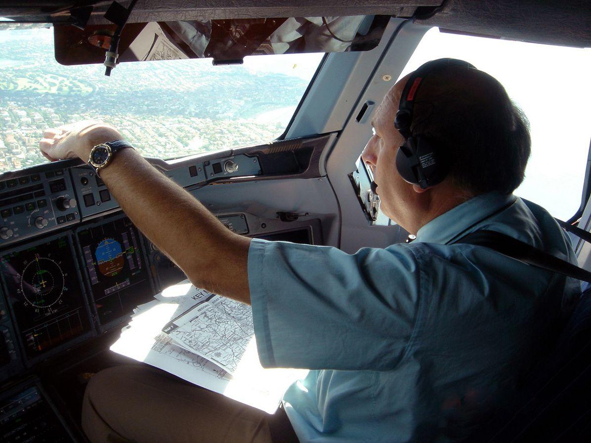 A380 tour pilot