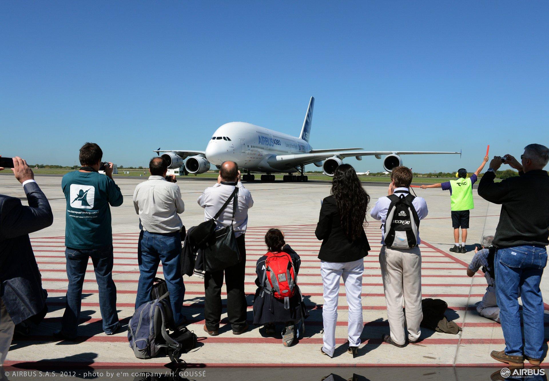 A380 tour Buenos Aires